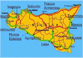 Gela Sicilia Cartina.Notesullacitta